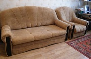 Мягкие кресло+диван,  дешево,  срочно