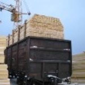 Производим продаем вагонными нормами пиломатериал в Казахстан